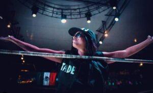 Alexa Jade en el ring entrevista